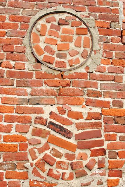 Brickwork, mill wall