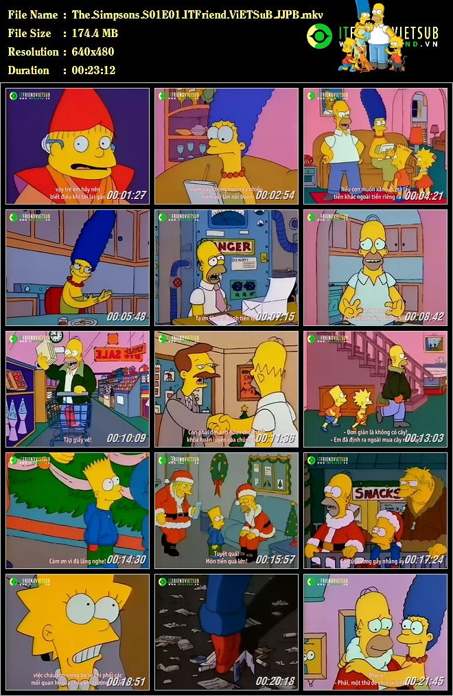 the simpsons s01e01 eng