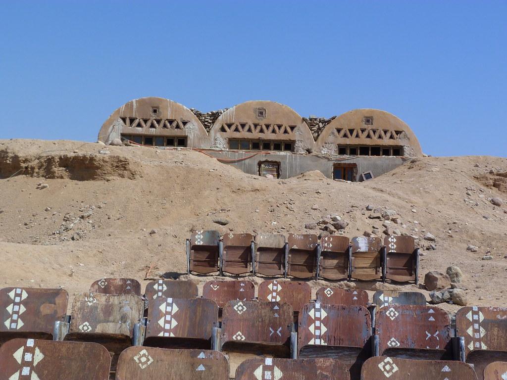 Cine desierto Sinaí Egipto