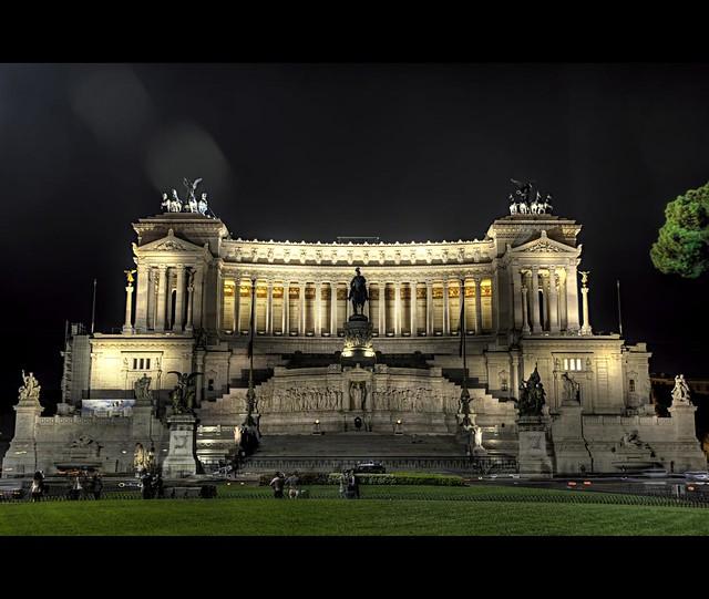 Vittoriano Milite, Rome