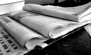 Newspapers B&W (2) | by NS Newsflash