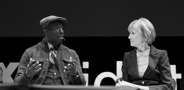 TEDxMidAtlantic 2011 - Michael K Williams and Judy Woodruff
