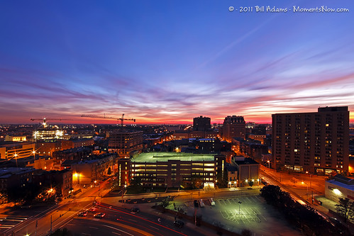 city sunrise cityscape baltimore mountvernon canonef14mmf28iiusm