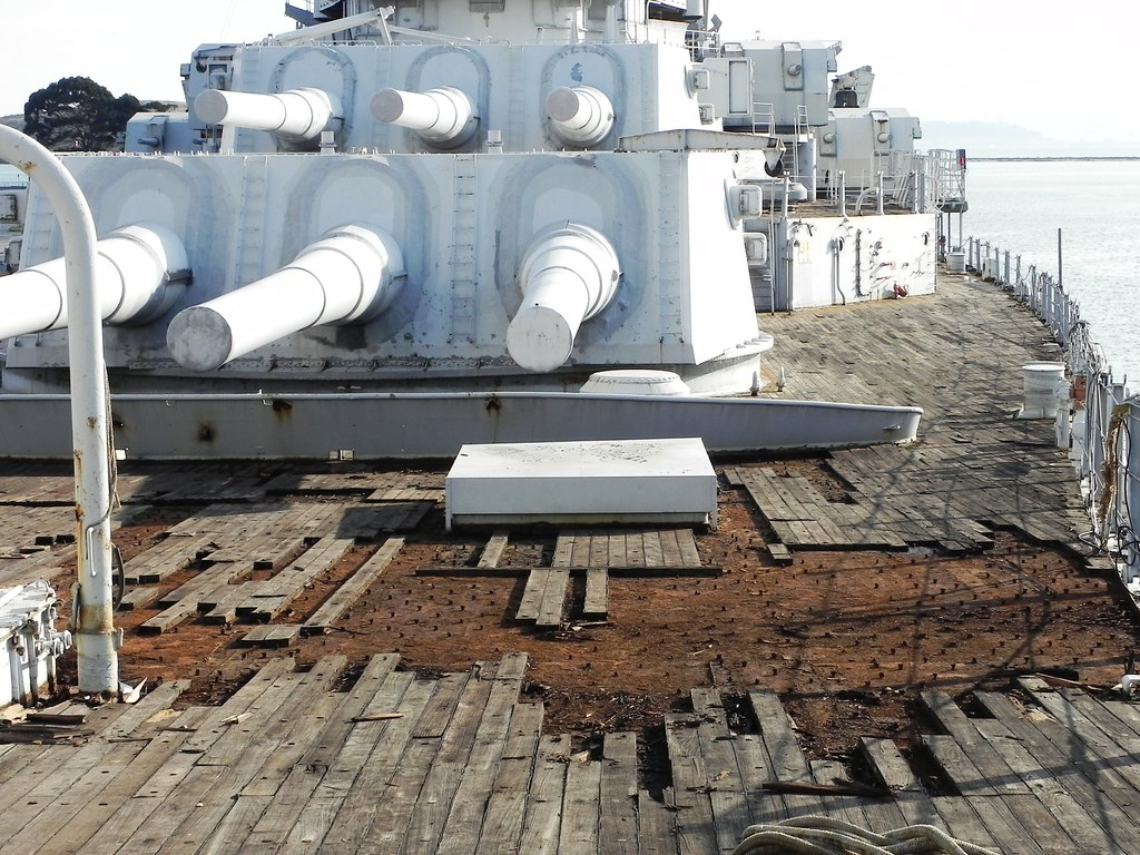 USS Iowa deck preservation and replacement   We are at Termi…   Flickr