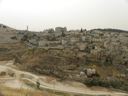 The mount of olives from the temple mount | by Ian W Scott