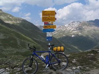 Keschhütte Wegweiser--2632 m | by Nedm44