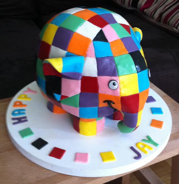 Elmer the Elephant - yay, made EXPLORE!!