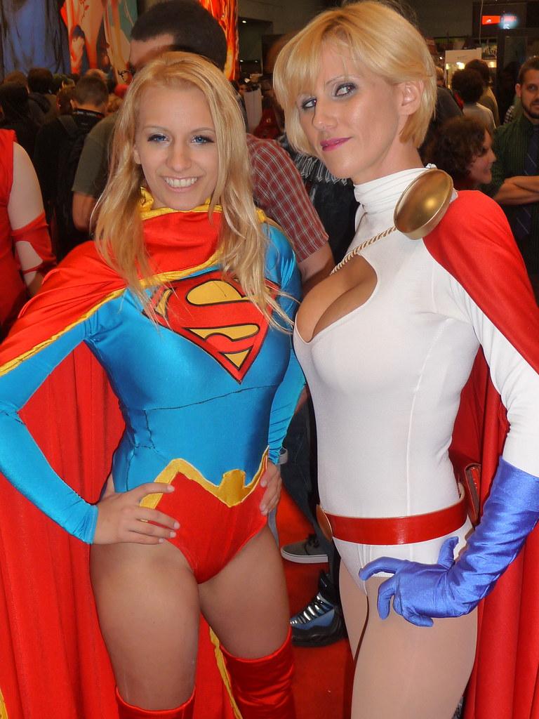 Supergirl  Power Girl - Cosplay - Dc Comics  Super -1678