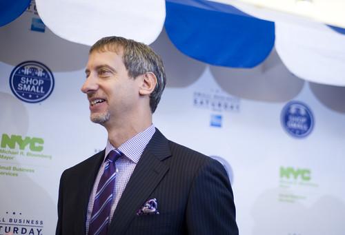 Speaker Quinn, Mayor Bloomberg Join American Express CEO K