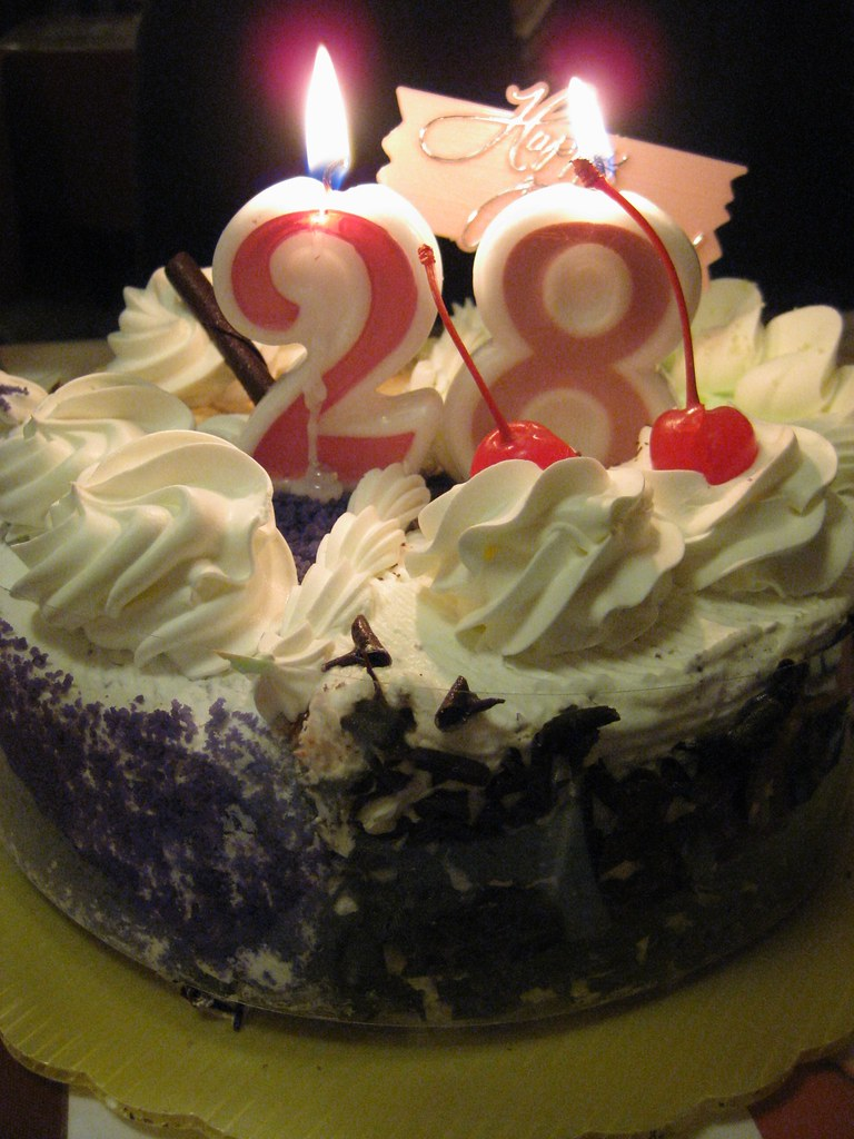 My Sister's 28th Birthday Cake! | This was at the Yuri Japan… | Flickr