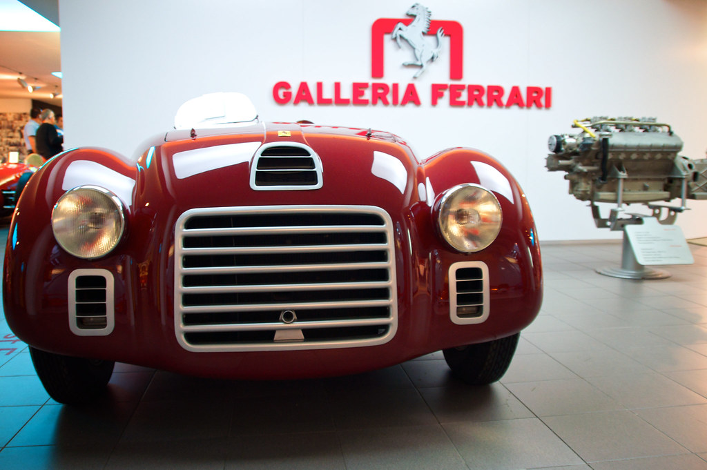 The First Ferrari 125 S Version 1 This Was The Very Fi Flickr