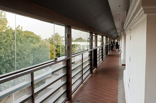 Walkway to Our Room   by Marshall Segal