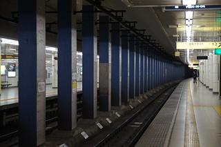 神谷町駅 Kamiyacho station