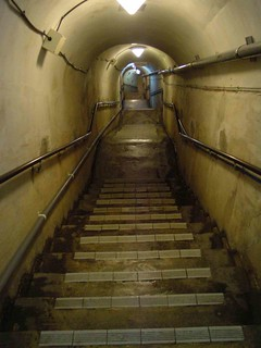 WWII Japanese Naval HQ Interior Staircase