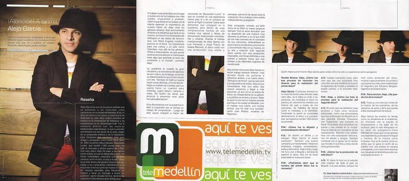 Revista Música Julio a Septiembre 2008