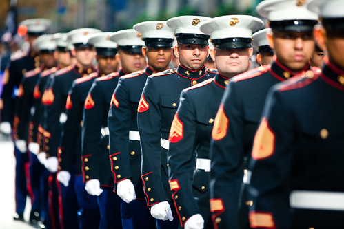 Marines march in 2011 New York Veterans Day Parade [Image 1 of 10] | by DVIDSHUB