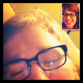 Making funny faces to each other on FaceTime. | by forkknifeandspoon