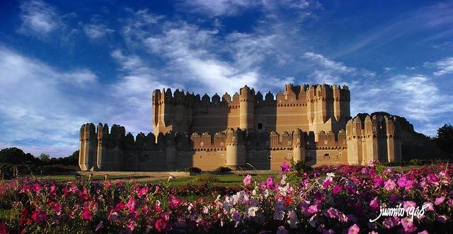 Coca (Segovia). Castillo.