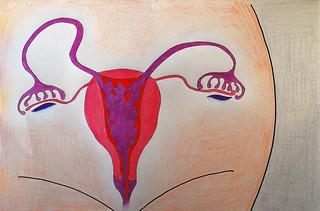 Menstruation | by areta ekarafi
