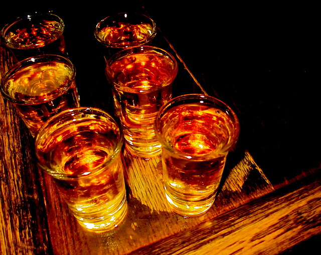Six Whiskey Shots at The Blind Pig - NYC NYC