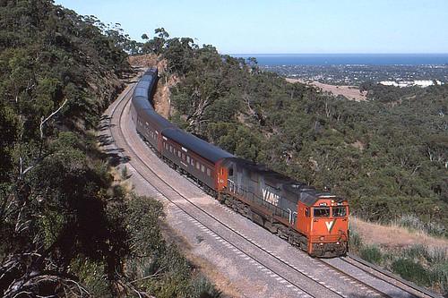 train south transport rail railway australia adelaide passenger overland vline nclass