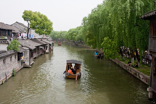 china heritage water architecture boats asia transport wuzhen zhejiang internationaltravel chn canonef24105mmf4lisusm canon40d