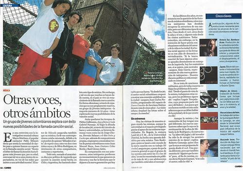Revista Cambio Bogotá Julio 2004