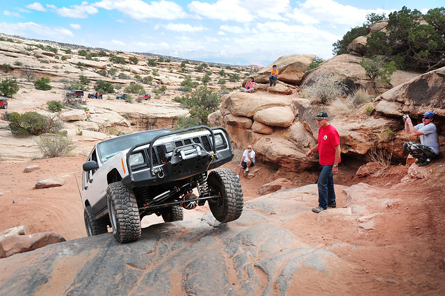 Easter Jeep Safari - Gold Bar Rim