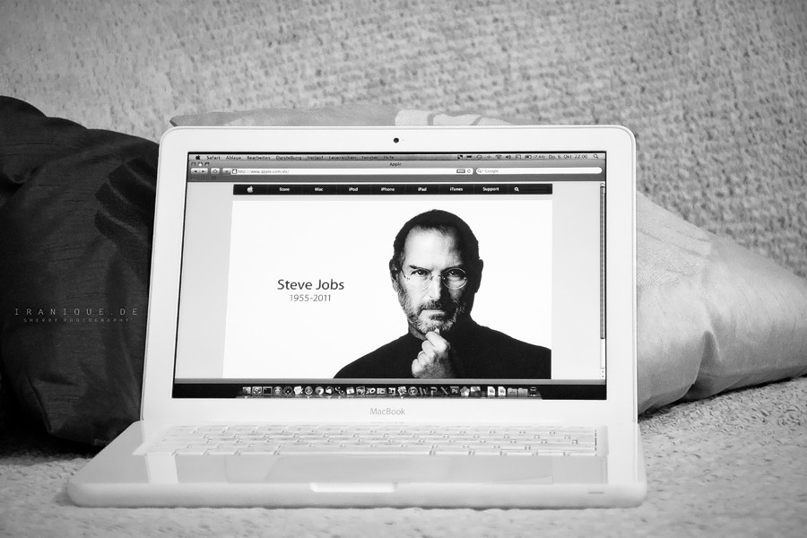 Rest In Peace Steve Jobs >> May Your Soul Rest In Peace Steve Jobs Sherry Iranique Flickr