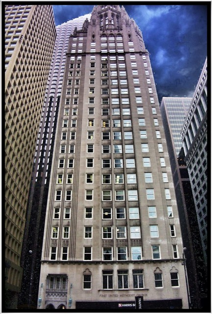 Chicago Temple Building ~ Chicago IL ~ A view up