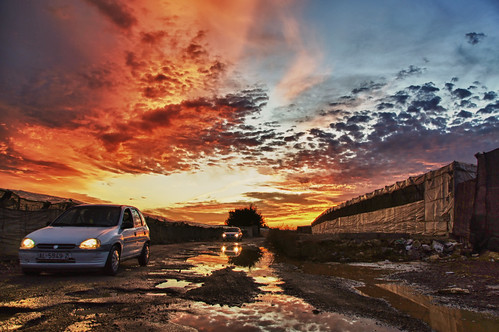 sky españa colour clouds reflections andalucía spain sony ngc almería elejido invernaderos a55 dubdream