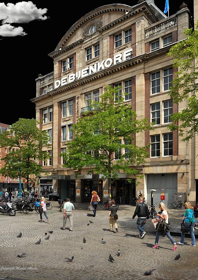 De Bijenkorf, the biggest department store in Amsterdam | Flickr