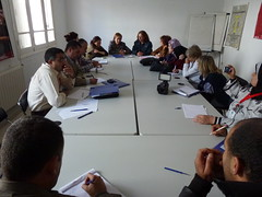 Meeting with the Association des Femmes Tunisiennes pour la Recherche et le Développement (Association of Tunisian Women for Research and Development), 3 November 2011
