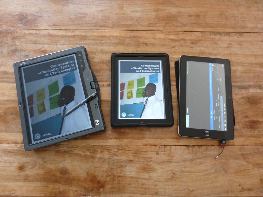 HP tc4400 vs. Apple iPad2 vs. SuperPad II / Flytouch3
