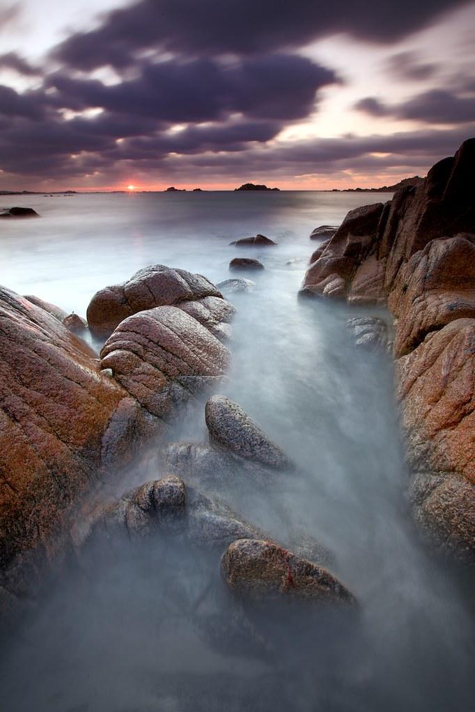 Grandes Rocques - November Sunset