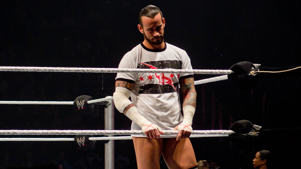 CM Punk | WWE Raw World Tour - London November 2011 | Ed Webster ...