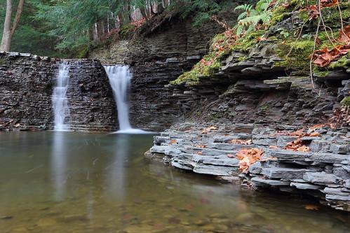park rock sunrise river flow dawn waterfall rocks stair falls waterfalls vestal binghamton vestalny stairpark