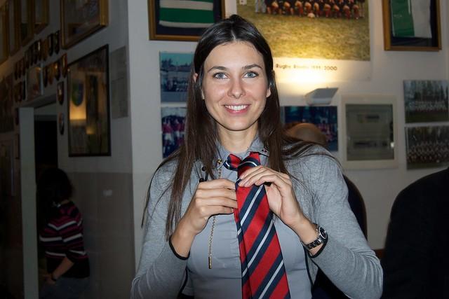 Come sto con la cravatta?
