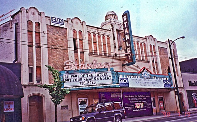 Stanley Theater ~  Vancouver  BC. ~ Film 1998
