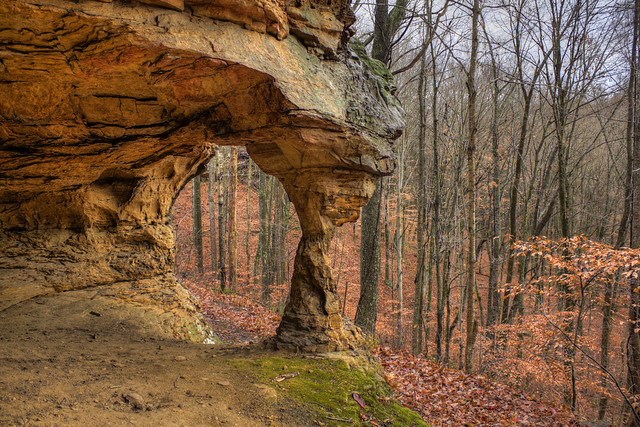 Arch, Stone Cove, Putnam County, Tennessee 1