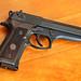 Image: Beretta Walnut Grips on Beretta 92FS