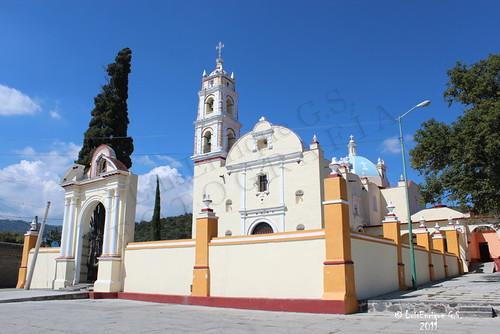 TEMPLO DEL SEÑOR DEL CALVARIO - Tochimilco - Puebla - México