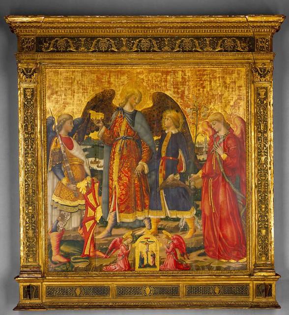 Tobias and three Archangels (1471)