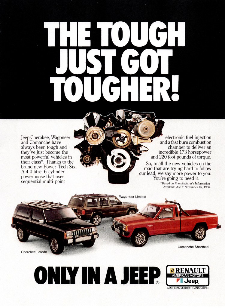 1987 Jeep Power-Tech Six (Canada) | The Power-Tech Six was t