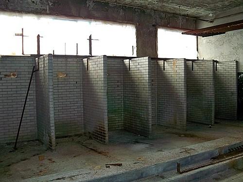 Abandoned Pennsylvania: Scranton Lace Factory--Employee Showers {EXPLORE}   by Cheri Sundra: Guerrilla Historian
