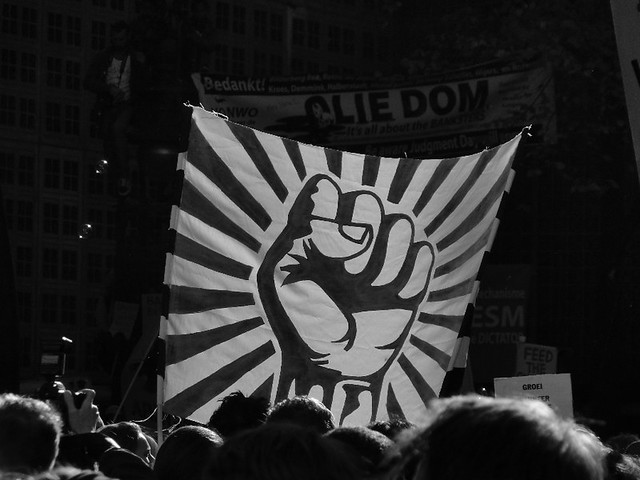 Occupy Amsterdam - Fist The System!