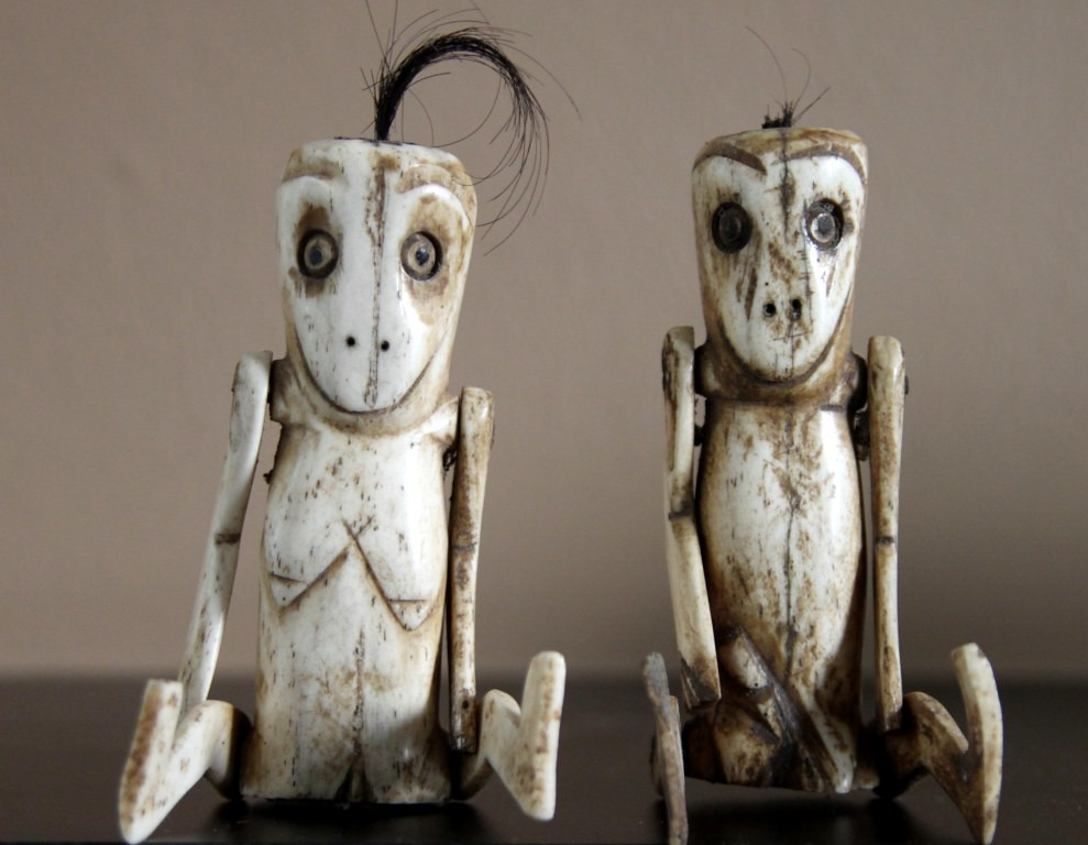 Circumcision Dolls Carved Bone Lombok Indonesia These It Flickr