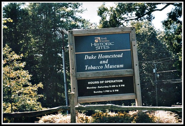 Duke Homestead & Tobacco Museum ~ Durham NC