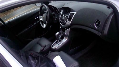 2012 Chevrolet Cruze LT:  Interior Photo