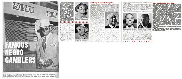 Famous Negro Gamblers - Jet Magazine, April 16, 1953